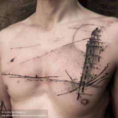 Encontre o tatuador e a inspiração perfeita para fazer sua tattoo.Amazing art from website comes up with news every week! Life Tattoos, Body Art Tattoos, New Tattoos, Tattoos For Guys, Cool Tattoos, Chest Tattoo, Arm Tattoo, Sleeve Tattoos, Tattoo Ink