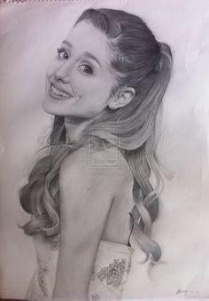 Ariana Grande by alme2208 on DeviantArt