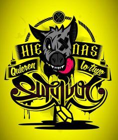 Hienas - T shirt design