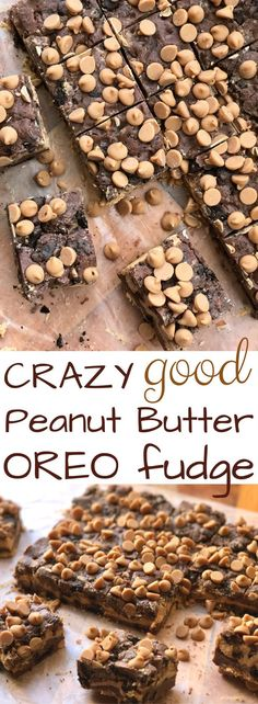 Peanut Butter Oreo Fudge. Seriously, this is crazy good. You'll love this Easy Oreo Fudge Recipe.
