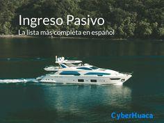 Esta es la lista más completa de tipos de ingreso pasivo, en español. Hay docenas de opciones en las que puedes invertir. Selecciona las que más produzcan! Bussines Ideas, Things To Know, Life Hacks, Investing, Boat, Education, Memes, Audiophile, Entrepreneurship