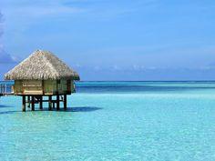 Overwater bungalow, Pearl Beach Resort, Bora Bora