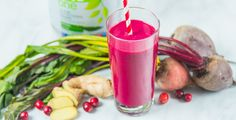 Don't let your friends beet you to making this smoothie. Yes, that is ½ raw beet included. Its vibrant red color will even give you a lovely lip stain!