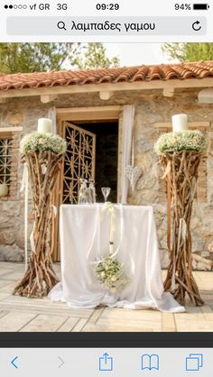 Chic Wedding, Luxury Wedding, Wedding Colors, Wedding Flowers, Olive Wedding, Wedding Decorations, Table Decorations, Ideas Geniales, Candle Stand