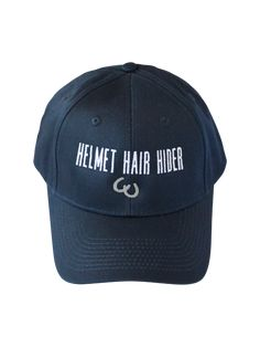 Helmet Hair Hider Hat in Navy Equestrian Boots, Equestrian Outfits, Helmet Hair, Horse Riding Clothes, Baseball Hats, Super Cute, Navy, Stuff To Buy, Accessories