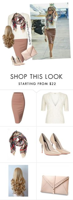 """Apostolic Fashions #943"" by apostolicfashions on Polyvore featuring Doublju, River Island, Sophia Webster and HarLex"
