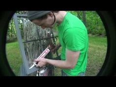 glazing from a caulk gun Brothers on Call said this is way easier!  video how to