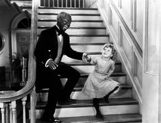 "That Famous Shirley Temple Scene {with Bill ""Bojangles"" Robinson}"