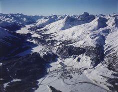 Celerina, St. Moritz. LBS_L1-760082 Image Archive, Switzerland, Mount Everest, Beautiful Places, Mountains, Nature, Photos, Travel, Naturaleza