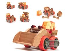Coolest Construction Toys Ever Toddler Toys, Kids Toys, Baby Toys, Art Wall Kids, Wood Toys, Gifts For Boys, Boy Gifts, Wooden Diy, Diy Craft Projects