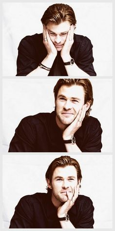 Chris Hemsworth; if there ever was a reason for having unrealistic expectations it's because of this guy. I can't decide weather I should hate his parents or high five them...