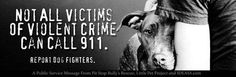 Not All Victims Of Violent Crime Can Call 911 - Report Dog Fighters