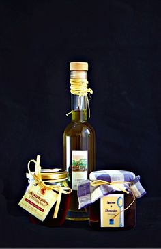 Homemade honey, olive oil & fruit in syrup - Greek certified products