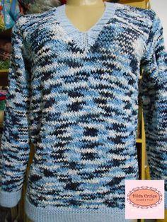 Blusa azul Velvet