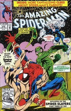 SpiderFan.org - Comics : Amazing Spider-Man (Vol. 1) #370 [after the bronze age]