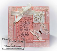 Card by Jennipher Lowery using Verve Stamps.  #vervestamps
