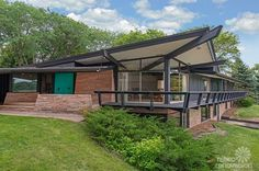 Mid Century Modern Pearsall Home. My dream home! This is it - THE ultimate MCM ideal home! Stunning, fabulous, spectacular, amazing, linear, natural-light, wood, stone, tile, luscious, angular, Brady Bunch all rolled into one! Drooling over this one . . .  .