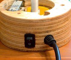 CD Lamp 2 - Back of base