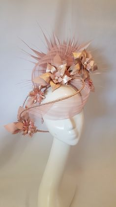 Millinery By Mel Millinery Hats, Fascinator Hats, Head Accessories, Fashion Accessories, Races Fashion, Fashion Hats, Crazy Hats, Business Hairstyles, Fancy Hats