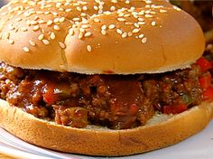 Spenser's Sloppy Joes Recipe : Patrick and Gina Neely : Food Network - FoodNetwork.com