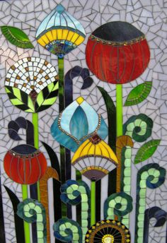 Mosiac by Janine Irisarri. Mosaic Crafts, Mosaic Projects, Art Projects, Mosaic Diy, Mosaic Wall, Mosaic Glass, Mosaic Tiles, Mosaic Pots, Mosaic Bathroom