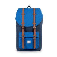 Herschel Little America Backpack<p>Navy/Cobalt Crosshatch