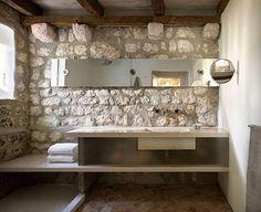 Spa-like Bathroom in Croatia by Steven Harris Architects