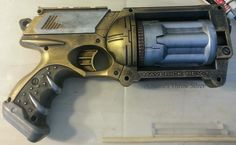 Gold and Silver N-Strike Maverick, $40. SOLD, can be made again