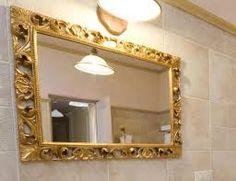 Puertas de vidrio para ba os dise o de interiores artes - Como decorar un espejo ...