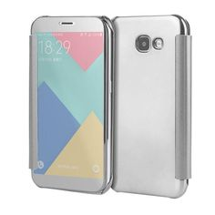 Case PC View Windows Ultra Thin Flip Case Luxury Plating Mirror Cover Bag For Samsung Galaxy Fundas Phone Case Samsung Galaxy S6, Mobiles, Window Casing, Android, Flip Phones, Mobile Phone Cases, Leather Cover, Galaxies, Mirrors