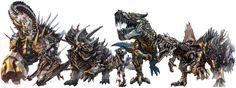 Transformers 4 Age Of Extinction Dinobots