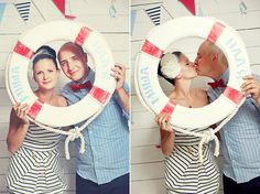 Cute idea while sailing away on the Cruise for honeymoon!