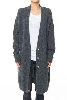 Anine Bing Dark Grey Cardigan - Want!