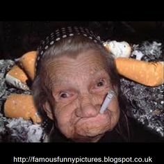 famous funny pictures: smoking never done me no harm