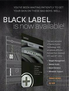 Order Your Black Label TODAY!! While Supplies Last!!