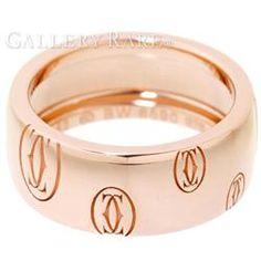 カルティエ リング ハッピーバースデイ K18PGピンクゴールド リングサイズ52 Cartier 指輪 ジュエリー バースデー ロゴリング