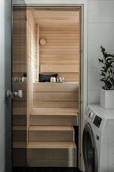 Sauna Design, Modern Architecture House, Home Appliances, House Design, Bathroom, Saunas, Interiors, Home Decor, Holiday