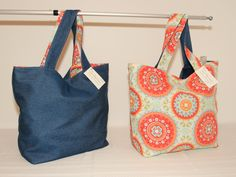 Purse Reversible Large Tote Bag  for Everyday Use Travel Bag #H1511 by DruandMegzDesign on Etsy