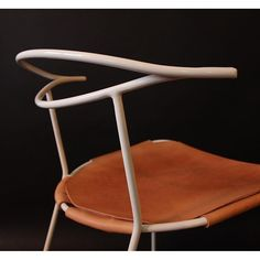 blocnotes - Hand forged steel and leather. Introducing Chair...