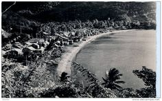 Bourg de Deshaies Country Roads, Island, Beach, Water, Photos, Outdoor, Antique Post Cards, Gripe Water, Outdoors