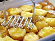 Krokant gebakken aardappels uit de oven