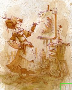 steampunk artist