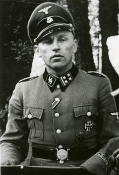 """Hans kammler, the Waffen-SS officer who supervised the third reich's shadowy military equipment experiments. Hans was in charge of several projects. The V series weapons ranks as one of the most important. He is known for constructing """"the bell."""""""