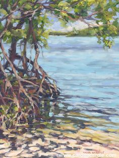 Beautiful Florida paintings for the Florida home by acclaimed Florida artist Carol McArdle Tree Paintings, Abstract Paintings, Paintings For Sale, Landscape Paintings, Grape Painting, Florida Landscaping, Mangrove Forest, Art Prints Online, Painting Still Life