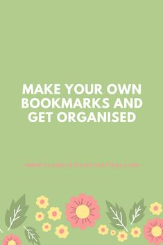 Make a whole range of bookmarks and use all your paperwork or journal organised! The post Make your own bookmarks to help you get organised 4 design ideas appeared first on Clairey at Fairy Crafters.