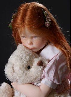 Red hair...sweet angel