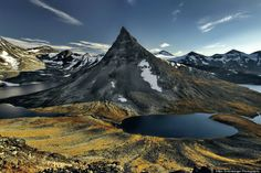 Norway In All Its Insanely Beautiful Glory #1 - A mountain in Jotunheimen National Park