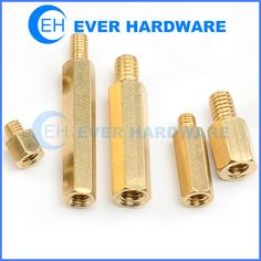 The threaded hex spacer is a threaded separator of defined length used to raise one assembly above another. They are usually round or hex for wrench tighten