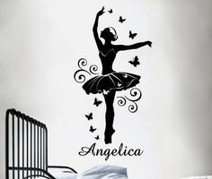Bedroom Decor Ideas and Designs: Ballerina Themed Bedroom Decor Ideas