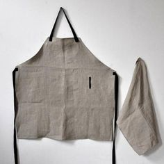 Fabrics & Linens: Aprons from VDC Maison : Remodelista
